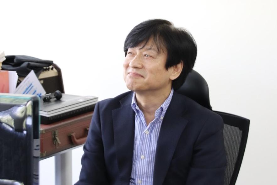 서영주 포항공과대학교 인공지능대학원장 (사진=이하나 기자)